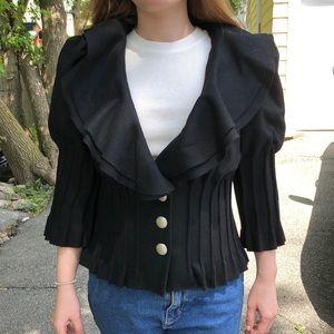 Arden B black wool blazer